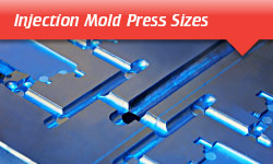 Injection Mold Press Sizes